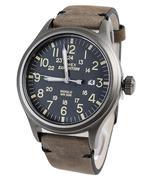 Đồng hồ nam dây da TIMEX TW4B01700 - Nâu