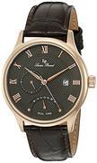 Đồng hồ nam Lucien Piccard LP-10339-RG-014-BRW Volos Analog Display Japanese Quartz Brown Watch