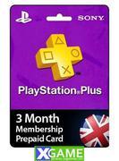 Thẻ PSN PLUS [3 Tháng] UK