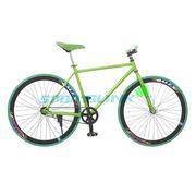 Xe đạp Fixed Gear Single thời trang SportSlink (Xanh lá phối đen) - XD_FGS_XANHLA_DEN