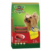 Thức Ăn Chó Nhỏ C.P Hương Vị Thịt Bò Nướng - 2 Kg