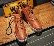 giày da cổ cao nam tính