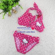 Áo bơi 2 mảnh Hello Kitty Sario size 1- 5 tuổi