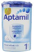 Sữa Aptamil 1 (Anh) (900g) (0-6 tháng tuổi)