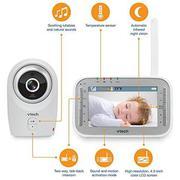 Máy báo khóc Vtech Safe Sound Full Color Video Monitor VM341