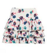 Tiered water lily skirt