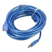 Cáp USB nối dài 3m (Xanh)