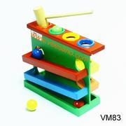 Đập bóng zigzac 3 tầng [VM83]