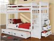 Giường tầng TE 3T Acme Furniture màu trắng