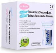 Túi trữ sữa Unimom compact không BPA (60 túi – 210ml) (Hàn Quốc)