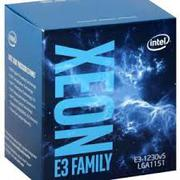 CPU Intel® Xeon  E3 1230V6 - 3.1GHz / (4/8) / 8M Cache / NONE GPU  - Kabylake