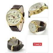 Đồng hồ nam dây da Timex T2P510 (Nâu)