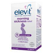 Elevit Morning Sickness Relief hộp 30 viên của Úc - Giảm các triệu chứng ốm nghén