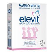Vitamin Elevit cho bà bầu và sau sinh tốt nhất của Úc