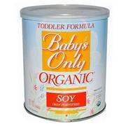 Sữa Organic Baby's Only (đậu nành) (360g)