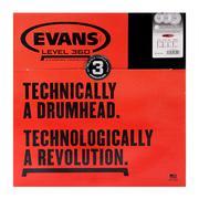 "Bộ mặt trống Evans EC2 Tom Pack-Standard 12.13.16"""