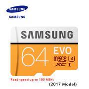Thẻ nhớ Samsung evo Micro SDXC 64GB class 10 UHS-I 100MB/s