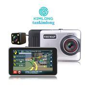 Camera hành trình Vietmap A45 Dẫn đường GPS (Đen bạc)