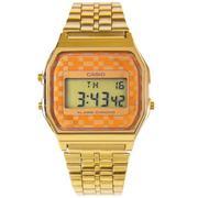 Đồng hồ unisex dây thép không gỉ Casio A159WGEA-9ADF (Vàng)