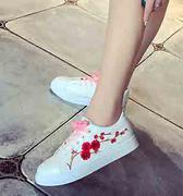 giày sneaker nữ bông hoa