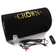 Loa phát nhạc Crown số 5 (Đen) và 01 USB Bluetooth kết nối âm thanh không dây