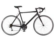 Aluminum Road Bike Commuter Bike Shimano 21 Speed 700c, Large (58cm) Black