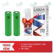 Bộ sản phẩm Kangertech Dripbox 160 (Rose gold) tặng 1 lọ tinh dầu New Liqua 10ml vị Xì gà Cuba + 2 p...