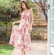 Váy maxi dạo biển Hàn Quốc 051247