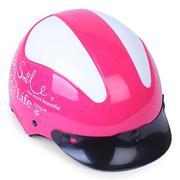 Mũ Bảo Hiểm Nửa Đầu SAFE CT5A1 Tem T3 Smile Life