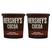 Bộ 2 hộp bột socola Hershey's 100% cacao tự nhiên 226g