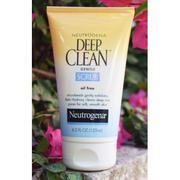 Sữa Rửa Mặt Tẩy Tế Bào Chết Neutrogena Deep Clean Gentle Scrub 125ml từ Mỹ
