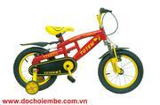 Xe đạp trẻ em Totem 912-14 đỏ-vàng