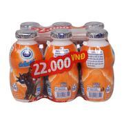 Sữa tiệt trùng Fristi Dutch Lady vị cam 80ml (1 hộp)