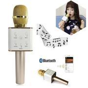 Mic karaoke Bluetooth có loa Q7 3 trong 1