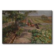 Tranh in canvas sơn dầu Thế Giới Tranh Đẹp Scenery 124