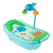 Chậu tắm có lưới đỡ và thanh đồ chơi Summer Infant SM09250