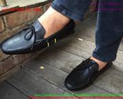 Giày da nam công sở thắt nơ phong cách sành điệu GDNHK175