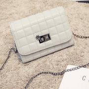 Túi khóa hoa thời trang H2 HK Fashion - Xám - Y98
