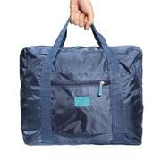 Big Travel Foldable Luggage Bag Clothes Storage Organizer Carry-On Duffle Bag Deep blue Fashion - in...
