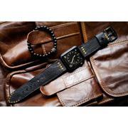 Dây đồng hồ da thật Handmade cho Apple Watch ( 38mm và 42mm ) – Mẫu BF02D73