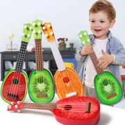 Đồ chơi đàn guitar cho bé yêu hình trái cây (Đỏ)