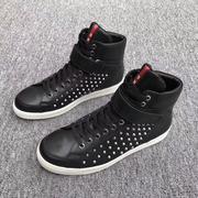 giày nam cao cổ prada 0156