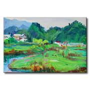 Tranh in canvas sơn dầu Thế Giới Tranh Đẹp Scenery 007
