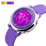 Đồng hồ trẻ em dây cao su Skmei 1100 (Tím)