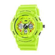 Đồng hồ nam dây cao su SKMEI 0966 (Đen)