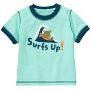 Áo phông bé trai Gymboree Surf's Up Sea Turtle Tee (Xanh nước biển)