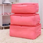 Túi đựng chăn màn vải dù chống thấm nước cỡ lớn (Hồng)