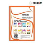 Giấy In Ảnh Media 2 Mặt Bóng Sọc (Art Glossy) A3 (29.7 x 42cm) 300gsm 50 tờ + Tặng Màn Ép Plastic 10...