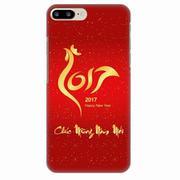 Ốp lưng nhựa dẻo Apple iPhone 7 Plus BST Tết Đinh Dậu 2017 (in 3D) 10