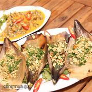 Set menu hải sản hấp dẫn dành cho 2 người tại Quán Của Tui